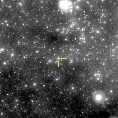 """zdjęcie nowej w Kilu odkrytej przez kamery """"Pi of the Sky"""""""