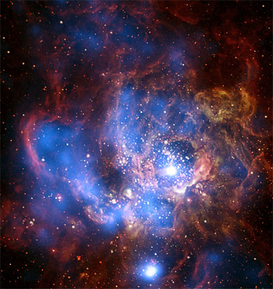 Mgławica NGC 604