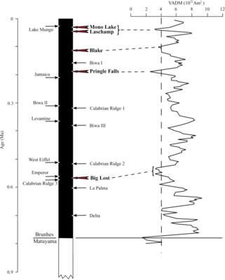 Natężenie pola geomagnetycznego