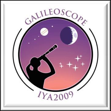 Logo projektu Galileoskop