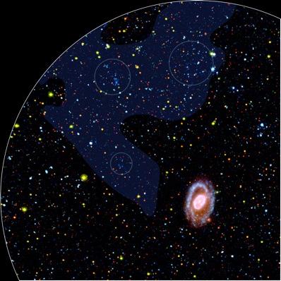 Galaktyki karłowate w Lwie