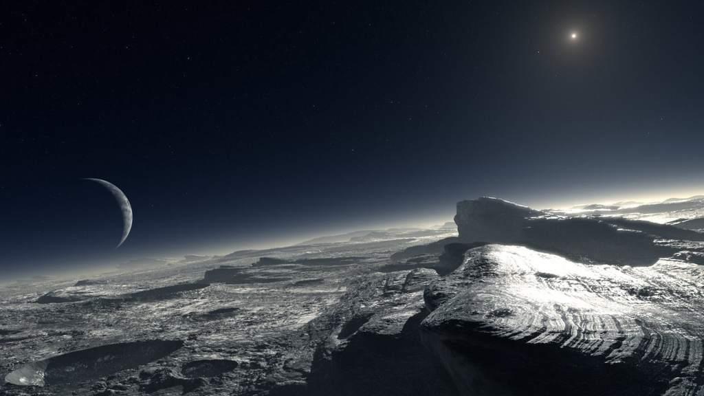 Wizja powierzchni Plutona