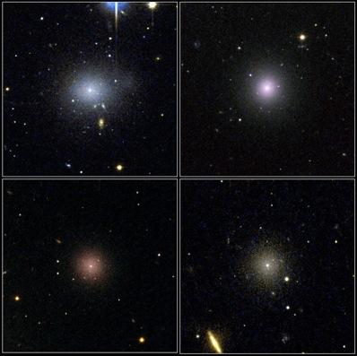 Gromada Galaktyk w Perseuszu - zbliżenie