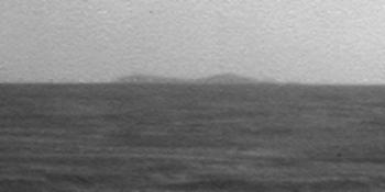 Północna krawędź krateru  Endeavour