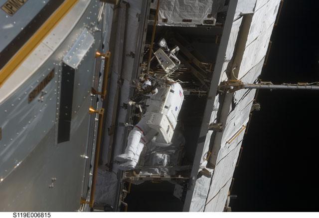 STS-119, drugi spacer