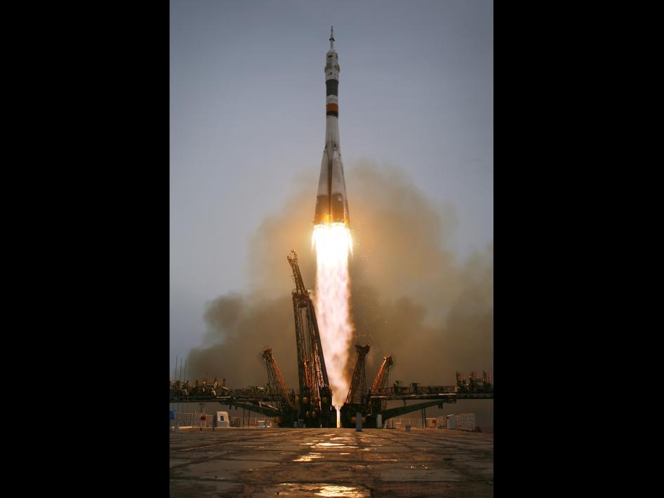 Start Sojuza TMA-14
