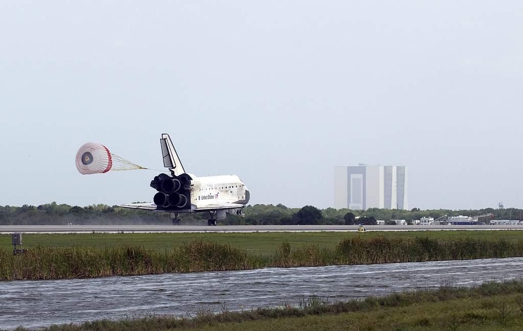 STS-119, lądowanie