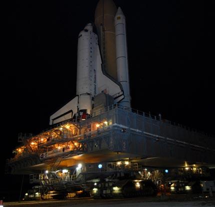 """""""Atlantis"""" w drodze na 39A"""