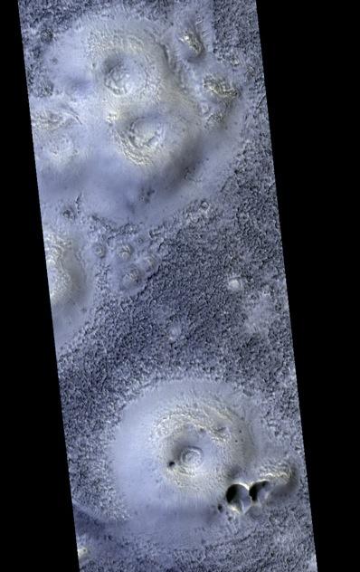 Marsjańskie stożki