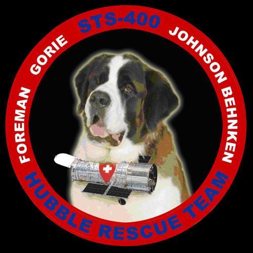 Logo misji STS-400