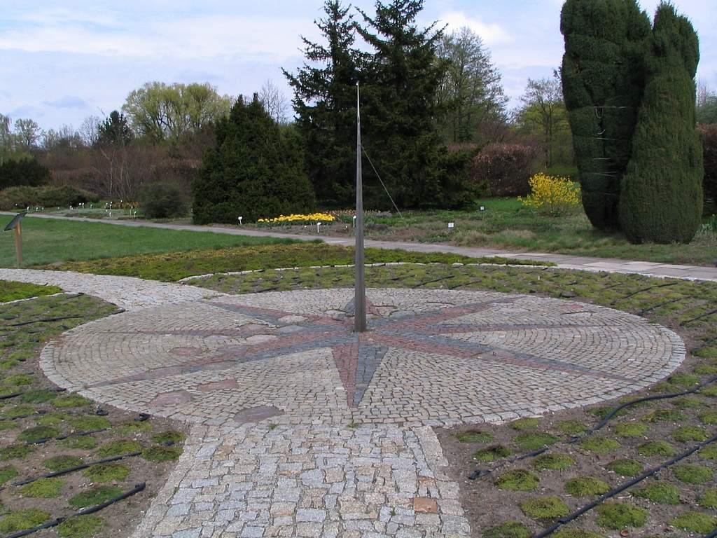 Ogród Botaniczny wŁodzi, zegar słoneczny (III)