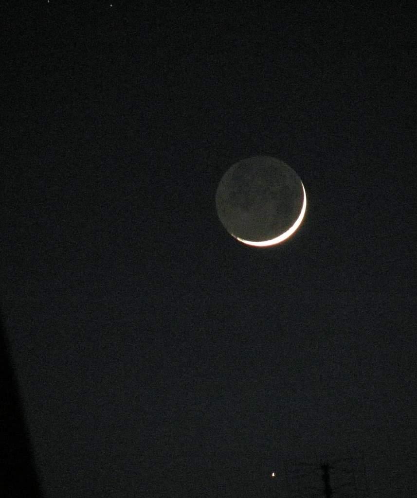 Merkury i Księżyc 26 kwietnia 2009