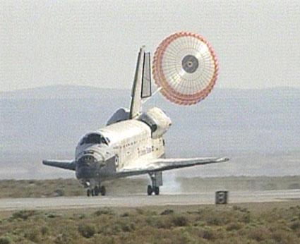 Zakończenie misji STS-125