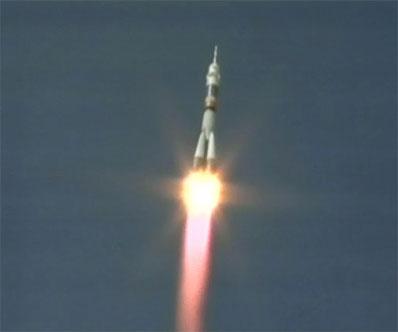 Start Sojuza TMA-15