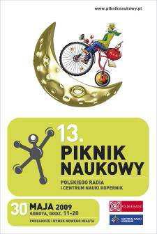 Logo 13.  Pikniku Naukowego Polskiego Radia i Centrum Nauki Kopernik