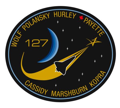 Logo misji STS-127