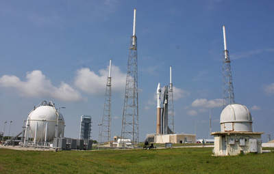 Atlas 5 zLRO iLCROSS nastanowisku startowym