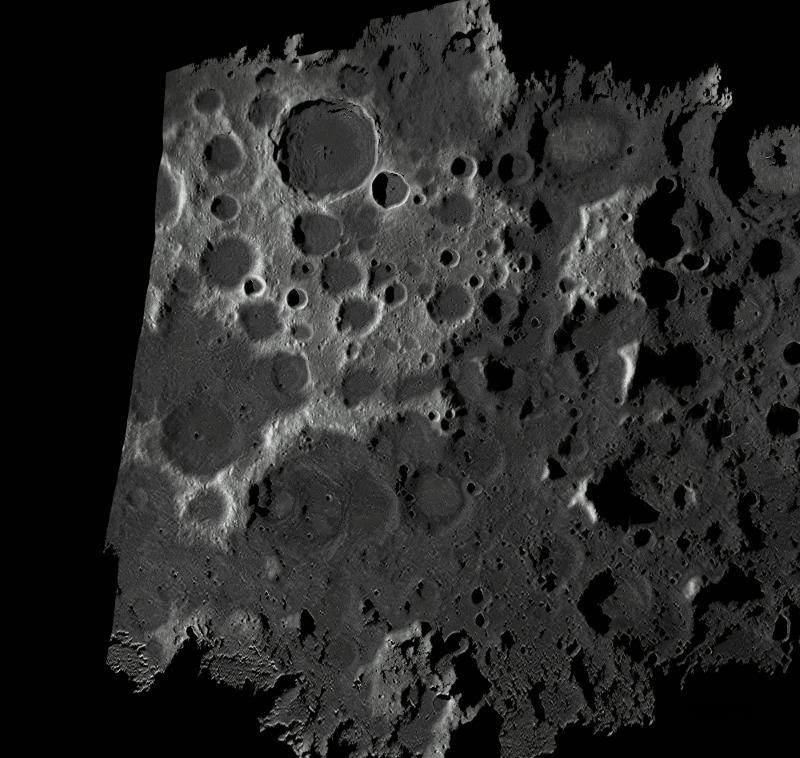 Radarowa mapa ksieżyca