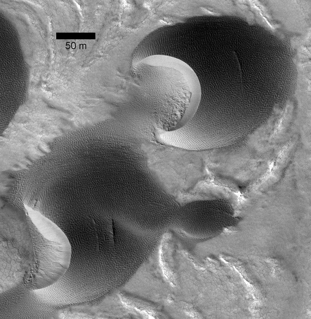 Marsjańskie wydmy