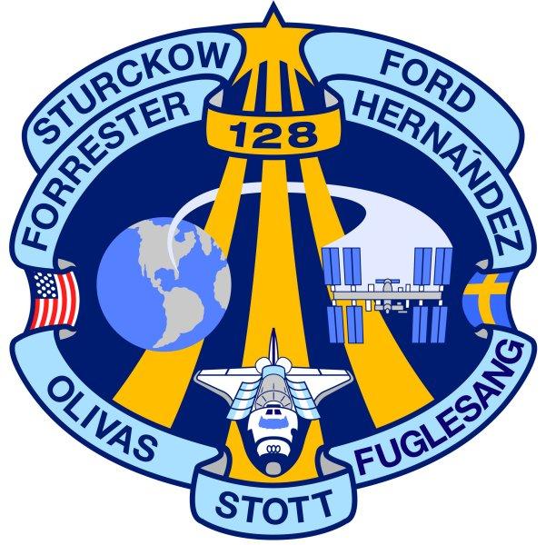 STS 128 - logo