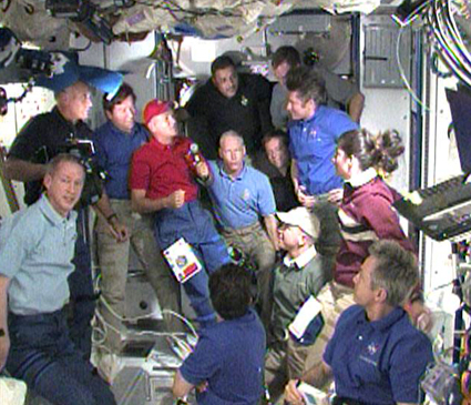 STS-128, ceremonia pożegnalna