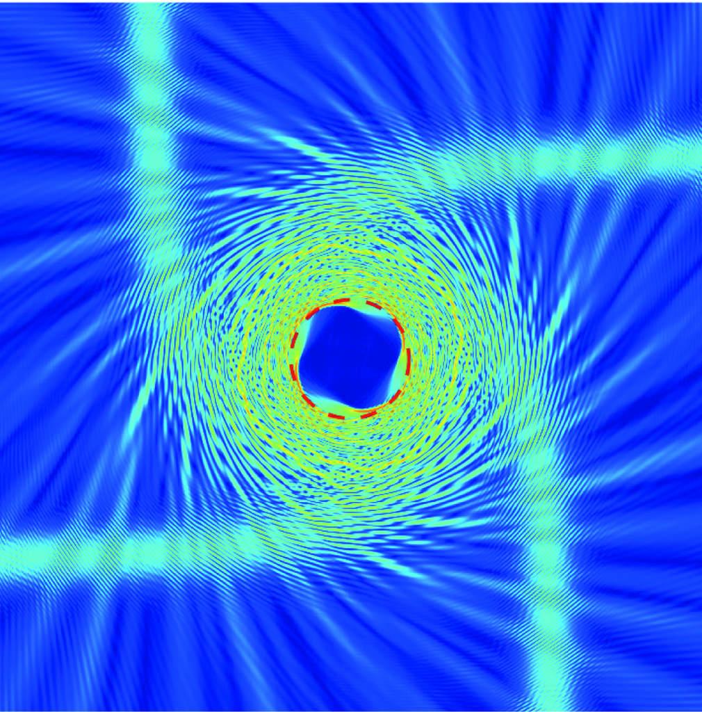 Metamateriał zakrzywiający światło jako odpowiednik czarnej dziury