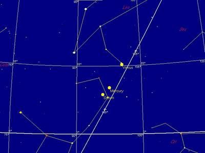 Planety naporannym niebie, 6 października 2009