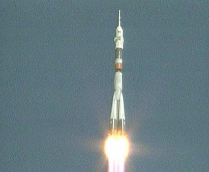 Start Sojuza TMA-16