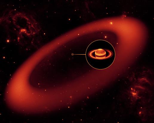 Olbrzymi pierścień Saturna