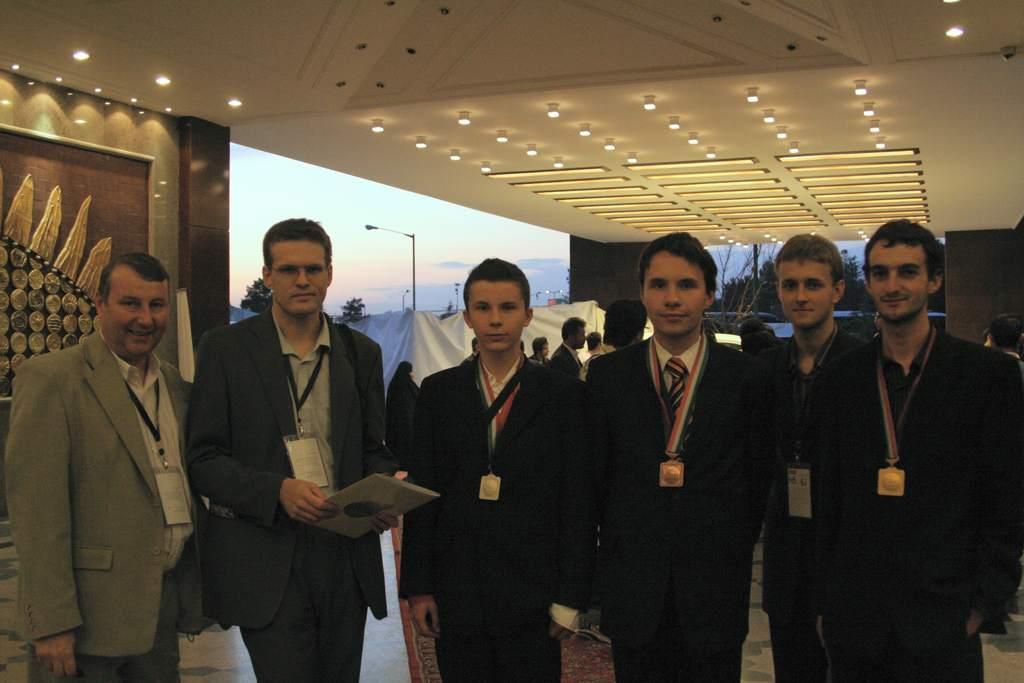 Polska reprezentacja na3rd IOAA