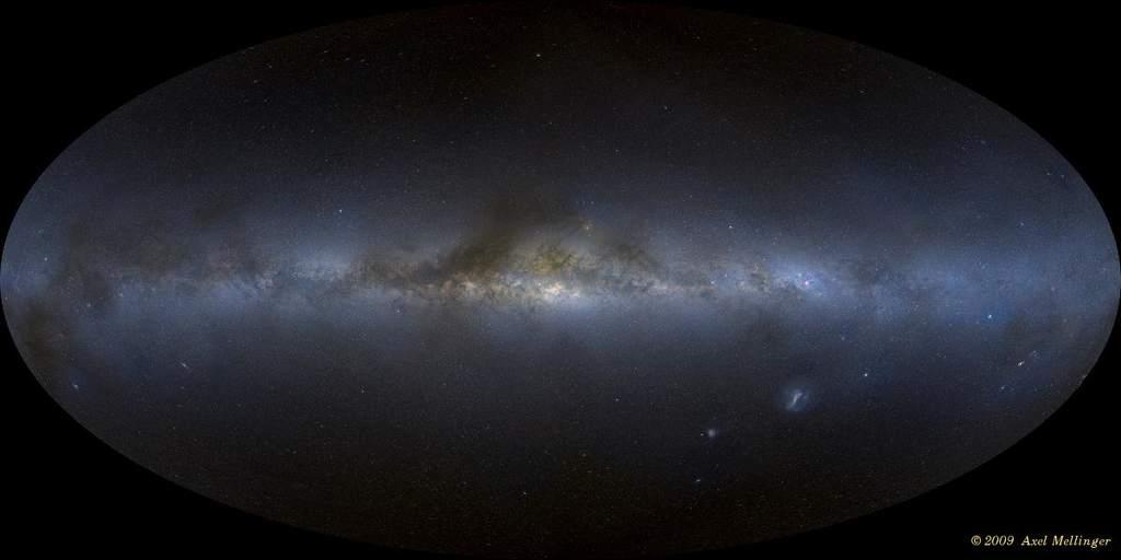 Składanka zdjęć nocnego nieba