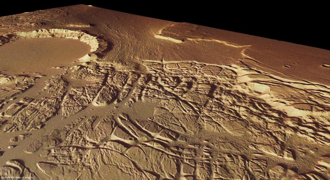 Kasei Valles, Sacra Fossae