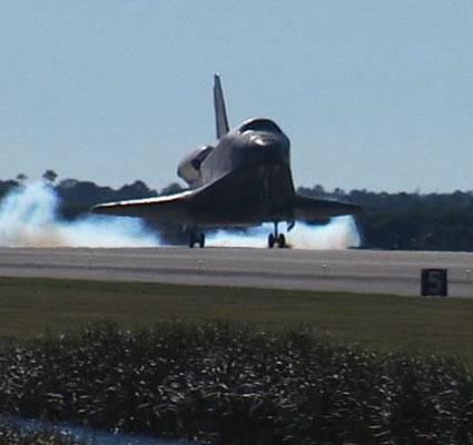 STS-129, lądowanie