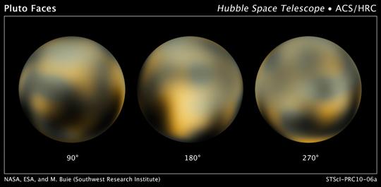 Powierzchnia Plutona - najnowsze zdjęcia