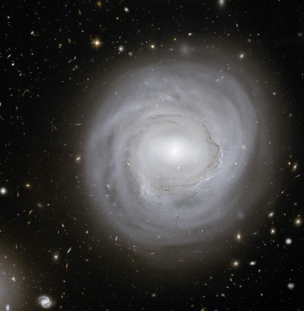 NGC 4921 widziana przez Teleskop Kosmiczny Hubble'a