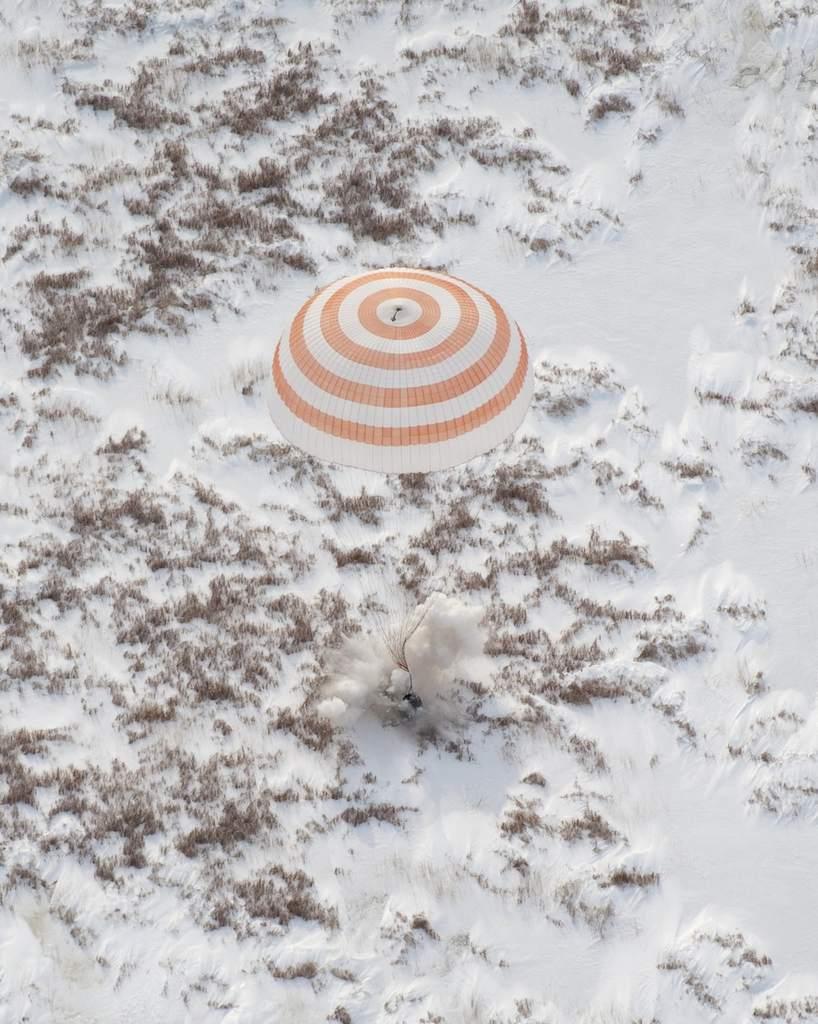 Soujz TMA-16, lądowanie