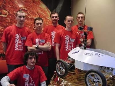 Polska reprezentacja na University Rover Challenge