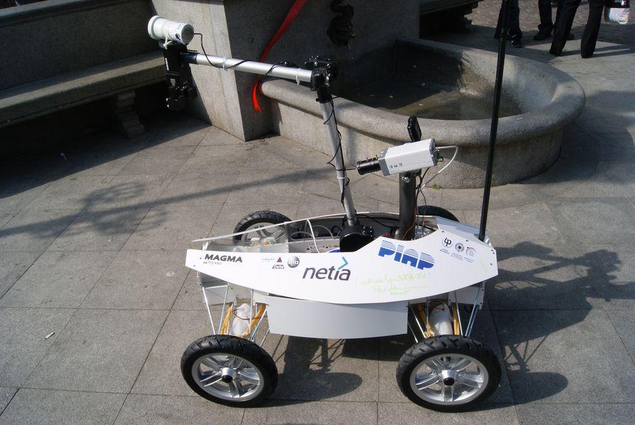 Robot Magma na University Rover Challenge