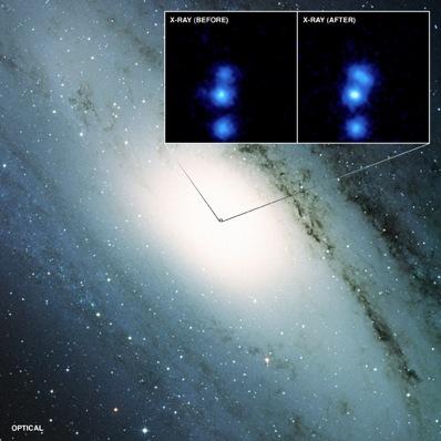 Czarna dziura w centrum M31