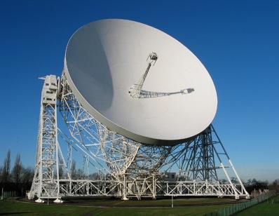 Radioteleskop w Jodrell Bank