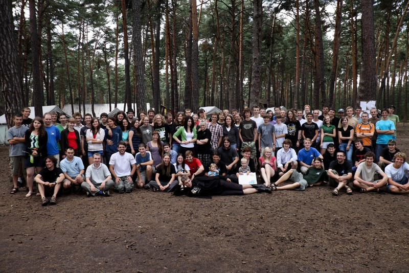 Rocznik 2010 na obozie Almukantaratu