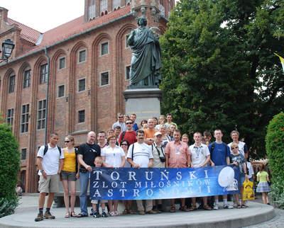 TZMA 2010 - przed pomnikiem Kopernika
