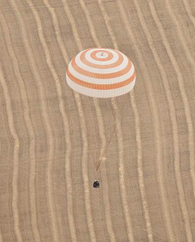 Lądowanie Sojuza TMA-18