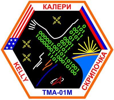 Logo misji TMA-01M