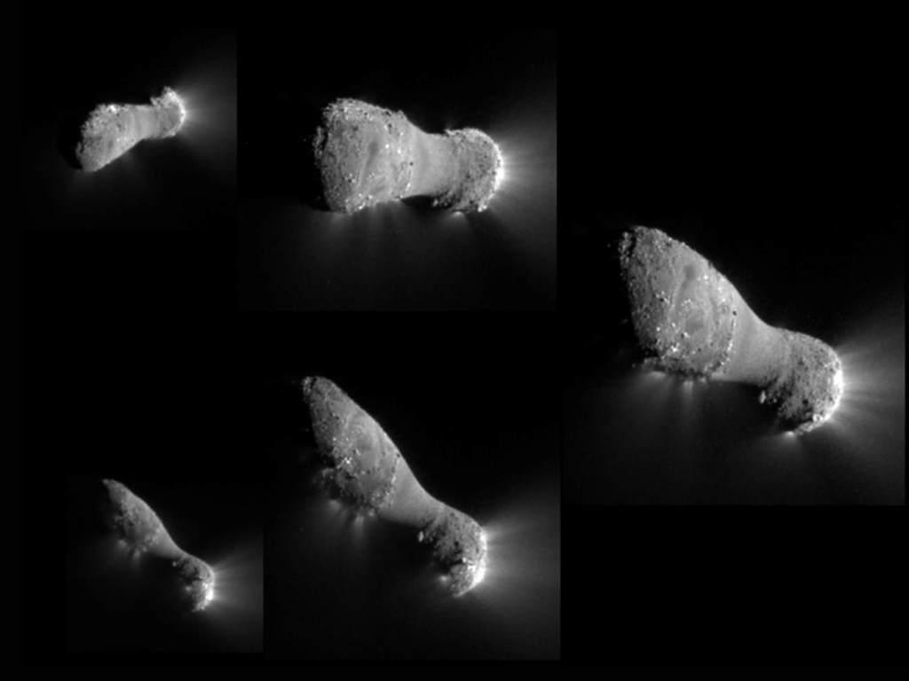 Kometa Hartley 2 (kilka zdjęć)