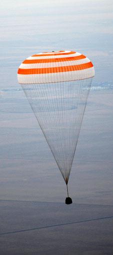 Lądowanie Sojuza TMA-19