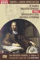 Dzieła Jana Heweliusza - plakat