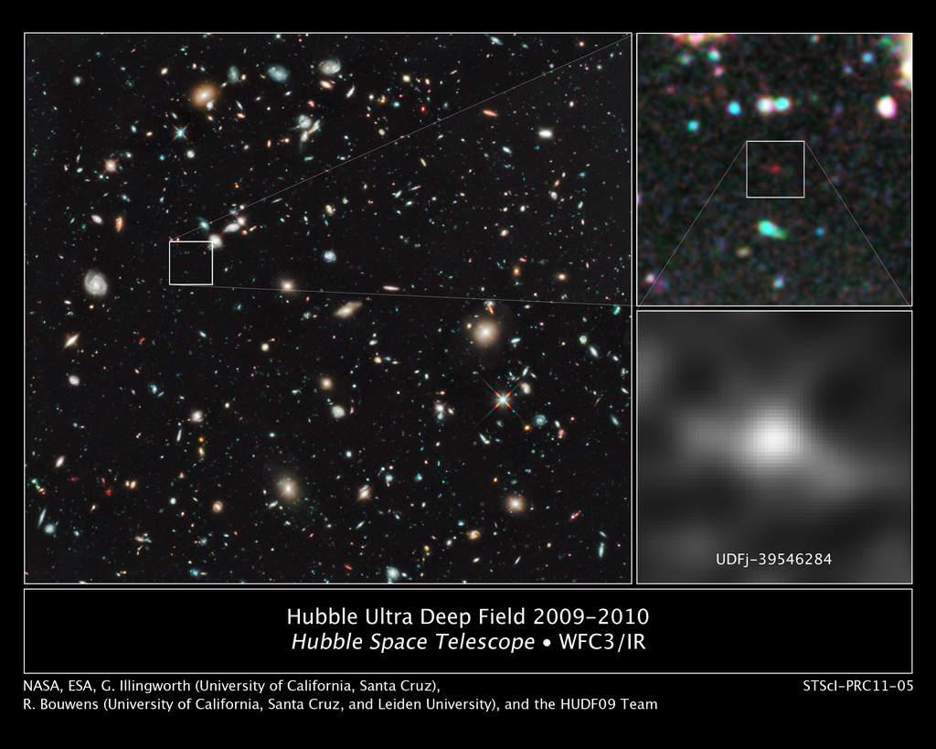 UDFj-39546284 - najdalsza galaktyka