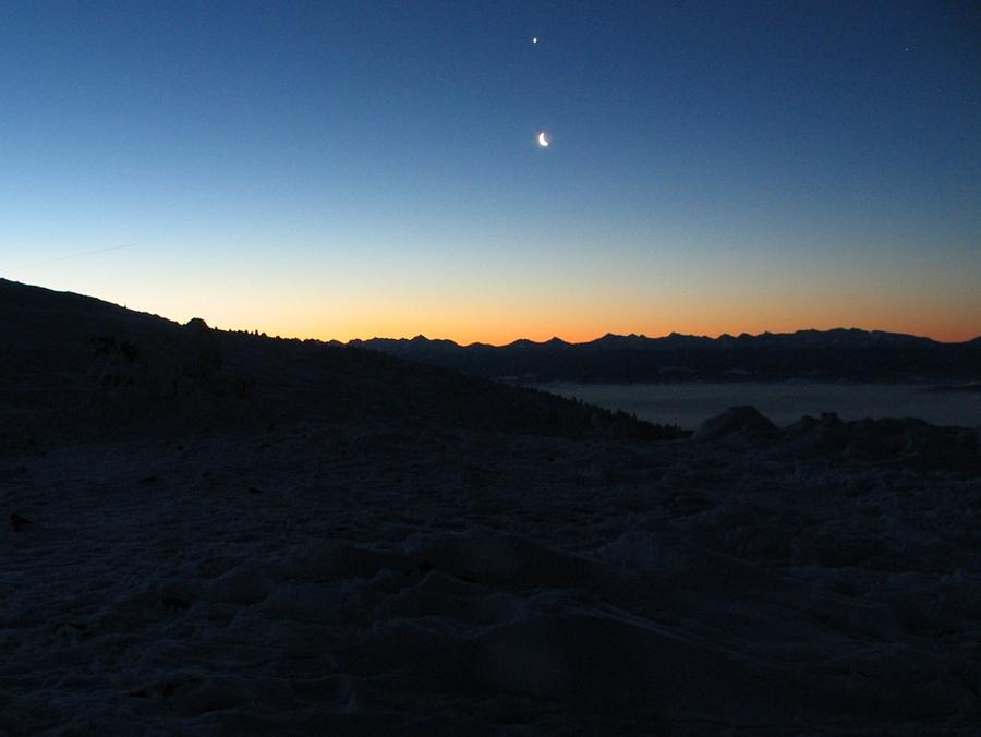 Tatry, Księżyc i Wenus