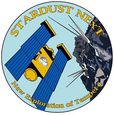 Logo misji Stardust NExT